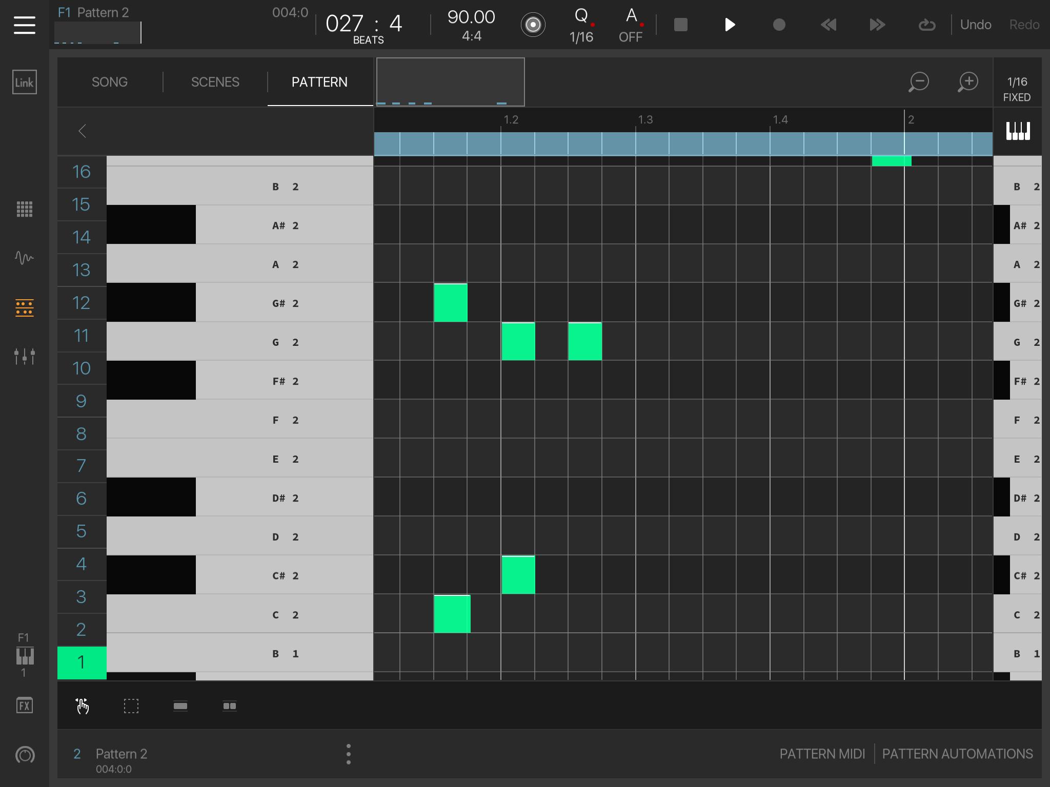 Keyboard on pianoroll — BeatMaker Forums