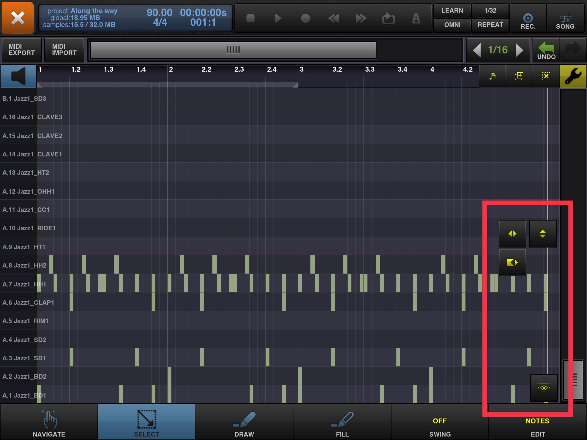 Finish MIDI Editing Interface — BeatMaker Forums