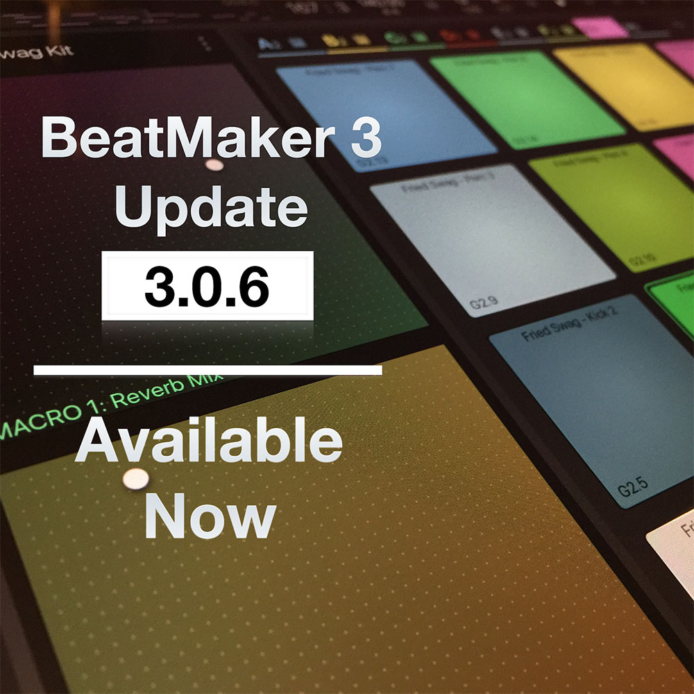 BeatMaker 3.0.6 now available