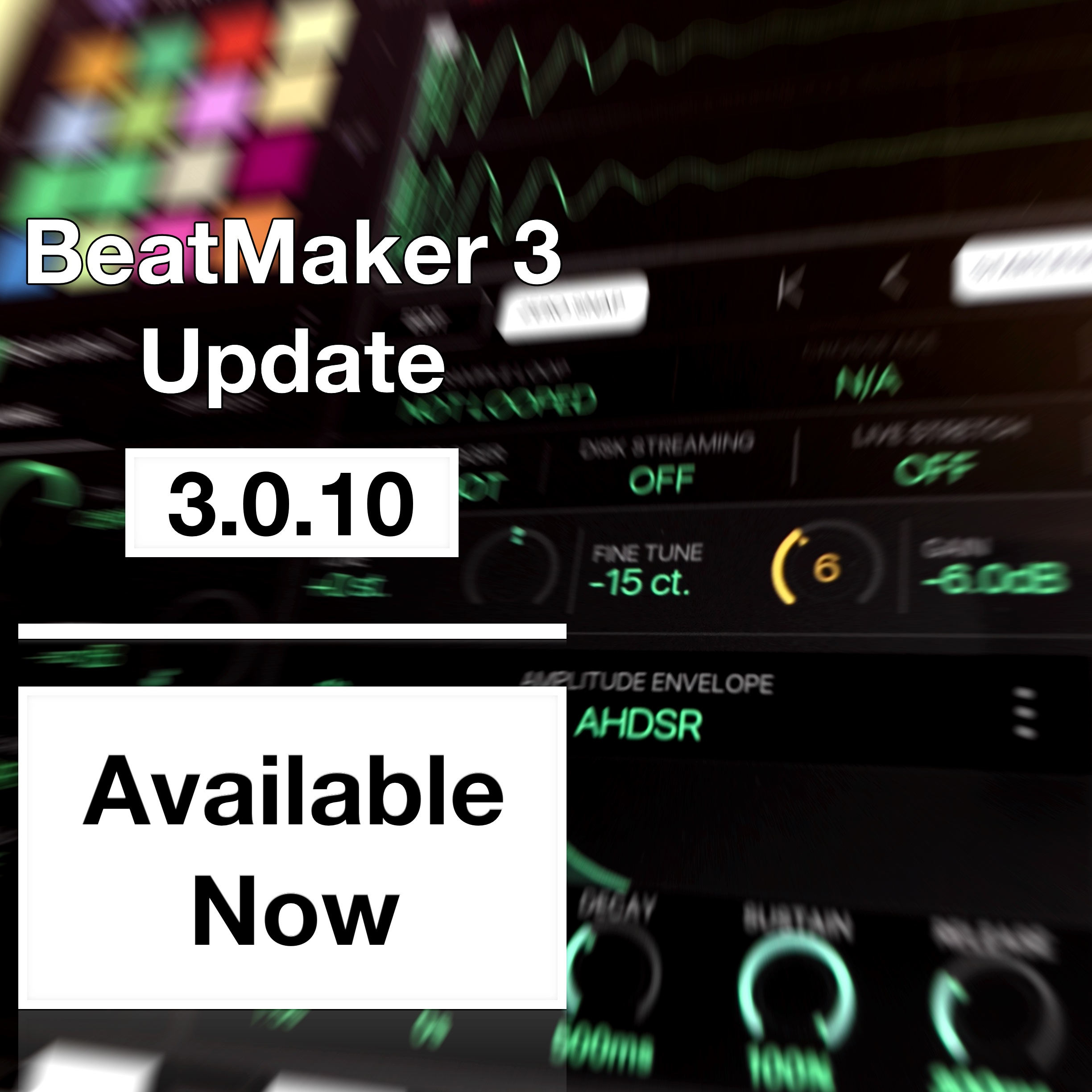 BeatMaker 3 Update 3.0.10